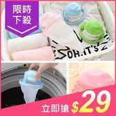 居家小物 洗衣機漂浮型棉絮收集袋 1入 (款式隨機)【小三美日】原價$39