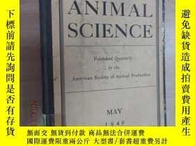 二手書博民逛書店外文書罕見JOURNAL OF ANIMAL SCIENCE 硬