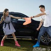 防水雨鞋 雨鞋女韓國可愛時尚成人男雨鞋套防滑加厚耐磨兒童雨靴防水防雨 小宅女