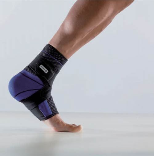 BAUERFEIND 德國保爾範 舒適可調式踝寧S 黑色(右腳) MalleoTrain  S *維康