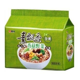 維力素飄香香菇野菜包麵85g(5入)/袋【康鄰超市】