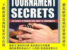 二手書博民逛書店Poker罕見Tournament SecretsY410016 Arnold Snyder Cardoza