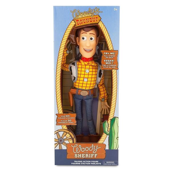 【one more】美國代購 Disney迪士尼 玩具總動員 會說話發聲 胡迪 原廠盒裝