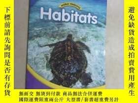 二手書博民逛書店英文書罕見habitats leveL 2 共16頁Y15969