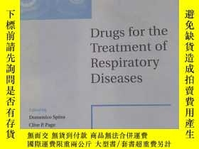 二手書博民逛書店Drugs罕見for the Treatment of Resp