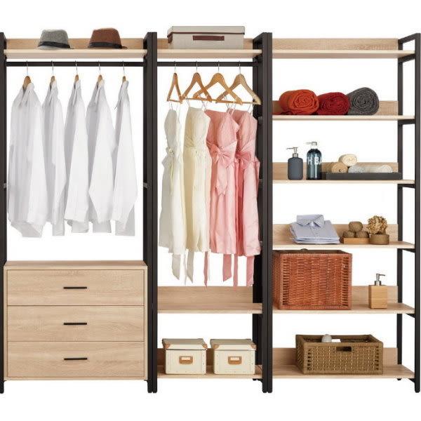 衣櫃 衣櫥 MK-589-345 艾麗斯7尺衣櫥 【大眾家居舘】