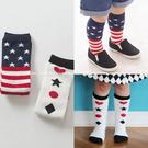 童襪 寶寶襪  國旗撲克中筒襪 嬰兒襪 ...
