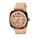 BRISTON CLUBMASTER 經典方糖腕錶-金框X裸色
