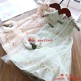 女童旗袍裙子夏裝漢服中國風小女孩公主裙2021新款兒童網紅連衣裙【齊心88】