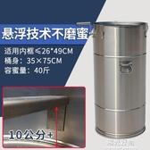 搖蜜機養蜂工具蜜蜂全不銹鋼加厚蜂密分離甩蜜桶搖糖懸掛小型304 NMS陽光好物