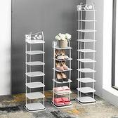 鞋架 鞋架簡易多層收納金屬簡易小鞋櫃子經濟型家用省空間客廳鐵藝鞋架 芭蕾朵朵IGO
