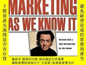 二手書博民逛書店The罕見End Of Marketing As We Know ItY256260 Sergio Zyman