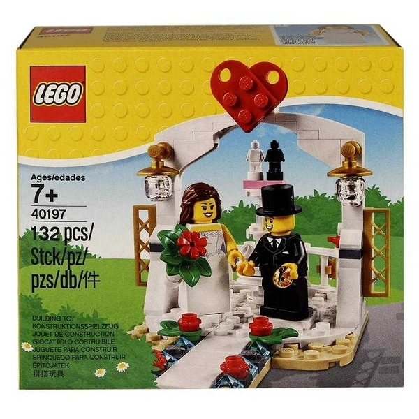 LEGO 樂高 Wedding Faror Set 婚禮 結婚記念組 40197