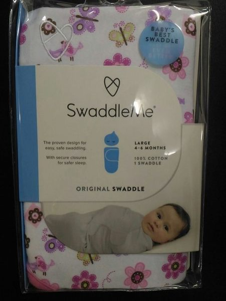 [寶媽咪親子館]美國Summer Infant swaddle me嬰兒包巾 純棉 單包巾 S號(54015)
