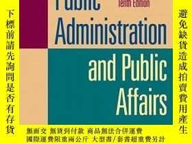 二手書博民逛書店Public罕見Administration And Public AffairsY255562 Henry,