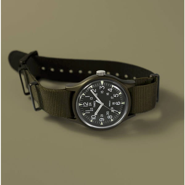 TIMEX 天美時 MK1 手錶(TXTW2R37500) 軍錶/軍綠/40mm