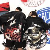 日式和服和風道袍古風外套男女學生日系【奇趣小屋】