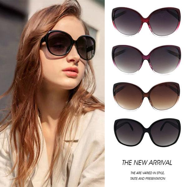 時尚簡約墨鏡 素面簡約大框顯小臉 經典款太陽眼鏡 抗紫外線UV400