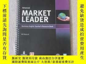 二手書博民逛書店Market罕見Leader Advanced Teacher
