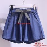 女童牛仔短褲薄款洋氣新款時髦韓版休閑兒童外穿百搭褲子【齊心88】