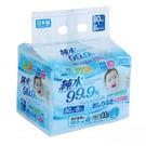 日本LEC  純水99點9日本製濕紙巾8入 溼紙巾【六甲媽咪】