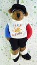 【震撼精品百貨】日本精品百貨~絨毛玩偶-人形熊-男生-休閒帽T