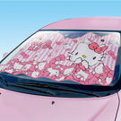 Hello Kitty 車用 遮陽板 粉紅 481 KT SANRIO SEIWA