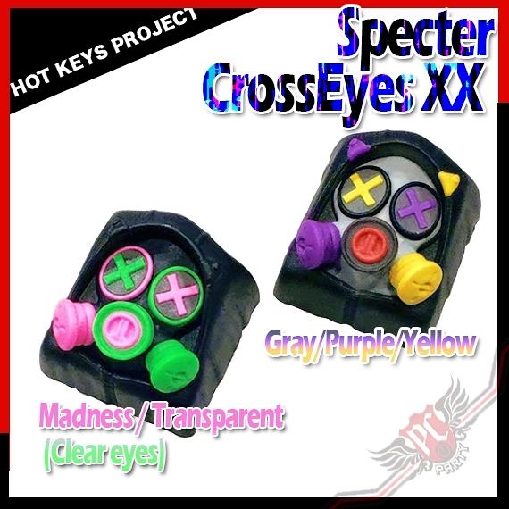[ PC PARTY ] Hot Keys Project HKP Specter CrossEyes Artisan Keycap 系列 鍵帽 個性化鍵帽