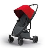 Quinny ZAPP X FLEX PLUS 嬰兒四輪手推車-旗艦版(紅篷深灰布)贈提籃+雨罩[衛立兒生活館]