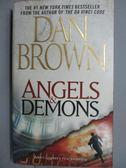 【書寶二手書T4/原文小說_MQG】Angels & Demons_Dan Brown