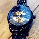 男士手錶 概念手錶男士機械錶男錶全自動鏤空運動潮流學生時尚防水腕錶