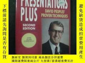 二手書博民逛書店英文原版罕見Presentations PlusY73354 D