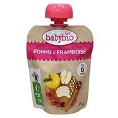 法國Babybio 生機蘋果覆盆莓纖果泥 90g[衛立兒生活館]