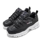 Skechers 休閒鞋 Energy Retro Vision 黑 白 女鞋 復刻 老爹鞋 厚底 小甜甜 【ACS】 13425BKW