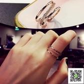 戒指食指女日韓學生指環潮人尾戒開口關節戒小指個性大氣韓國戒子  一件免運