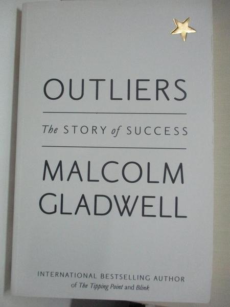 【書寶二手書T2/社會_KE3】Outliers: The Story of Success_Malcolm Gladwell