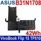 華碩 ASUS B31N1708 3芯 . 電池 VivoBook Flip 15 TP510 TP510UA TP510UF TP510UQ