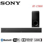 《福利新品》SONY索尼 4K HDR Soundbar+無線重低音組HT-CT800 (拆封品、非展示機、公司貨)