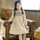 女童裙子夏季公主連身裙