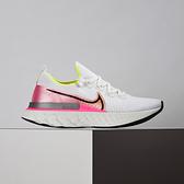 Nike React Infinity Run Flyknit 女鞋 白粉 避震 舒適 慢跑鞋 CD4372-004
