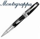 義大利Montegrappa萬特佳 Extra 1930 - 鋼珠筆 (竹炭黑) ISEXTRCH / 支