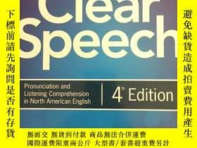 二手書博民逛書店Clear罕見Speech (4th Edition)Y2012