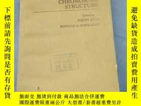 二手書博民逛書店chromatin罕見and chromosome struct