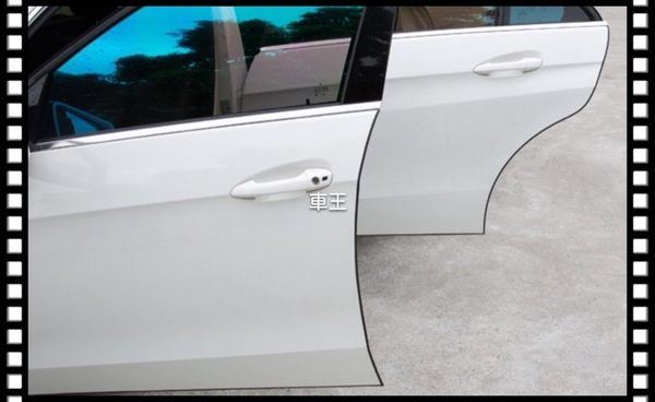 【車王小舖】納智捷 SUV7 U6 U7 S5 M7 MPV 車門保護條 門邊防撞條 車身防刮條