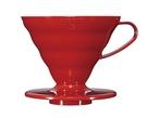 金時代書香咖啡 HARIO V60 02 樹脂濾杯 紅色 2-4杯 VD-02R
