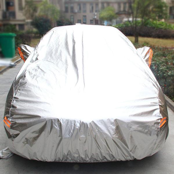 鋁膜汽車車衣車罩防曬隔熱防雨遮陽罩