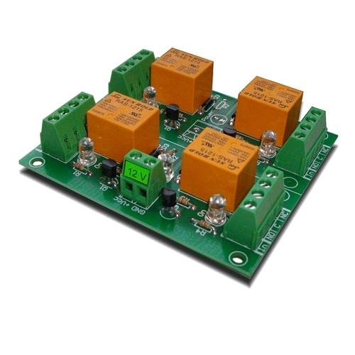 [2美國直購] denkovi 繼電器板 4 Channel relay board for your Arduino or Raspberry PI 12V
