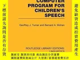 二手書博民逛書店A罕見Linguistic Description And Computer Program For Childr