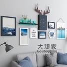 壁畫 客廳裝飾畫創意沙發背景牆掛畫組合北歐風格餐廳牆畫免打孔壁畫T