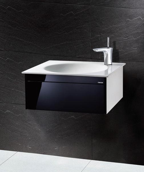 《修易生活館》 凱撒衛浴 CAESAR 面盆浴櫃組系列 一體瓷盆 LF5038 A 浴櫃 EH126 (不含龍頭)